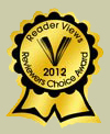 2012 Readers Choice Award Nuzzle by Donnie Winokur Kanter