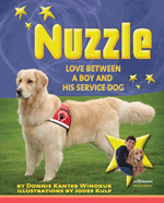 Nuzzle - Love Between a Boy and His Service Dog by Donnie Winokur