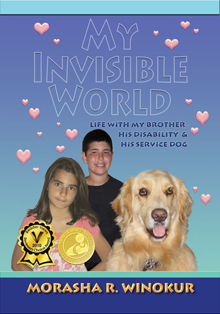 My Invisible World by Morasha Winokur take you behind the scenes and into the world of a sibling
